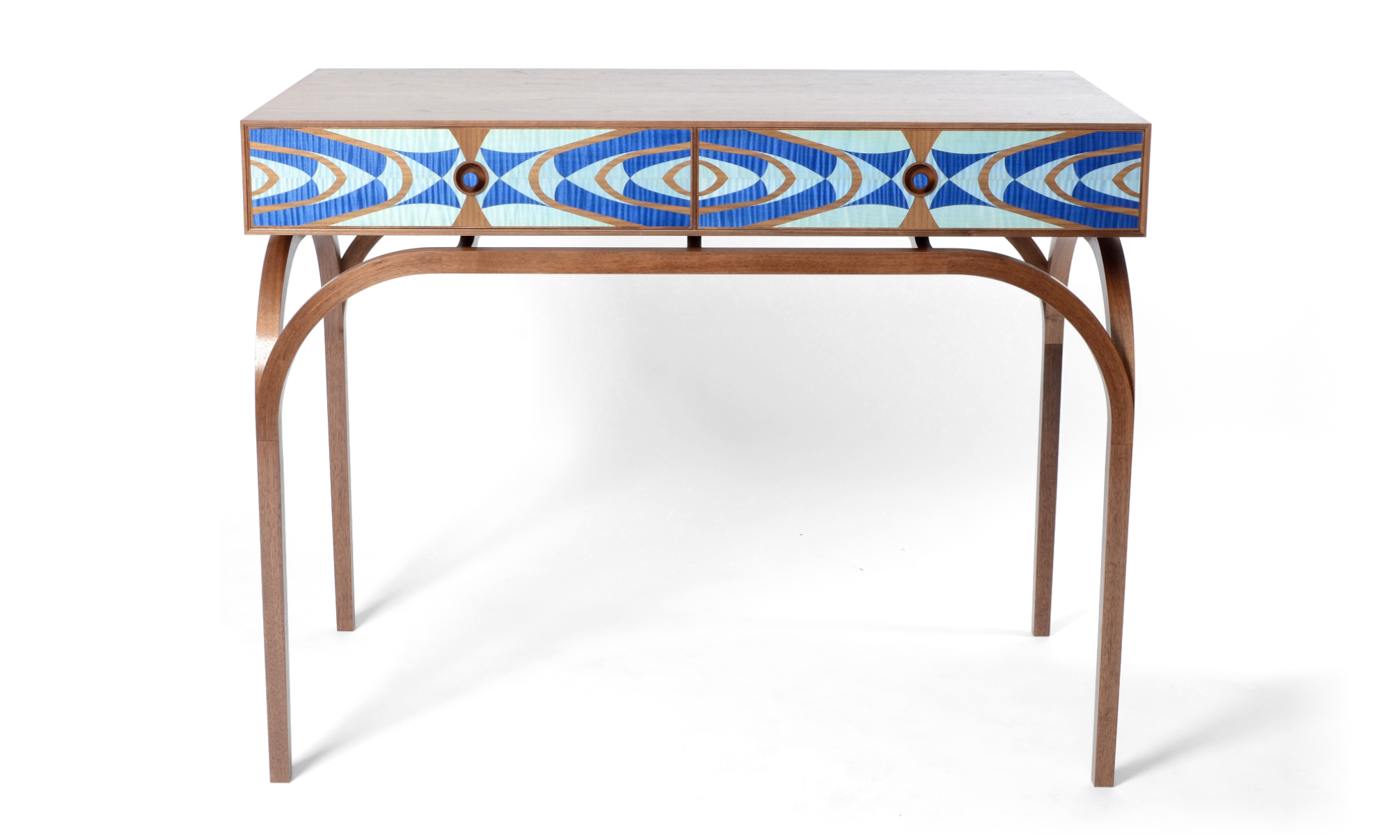 image of bespoke handcrafted console table furniture