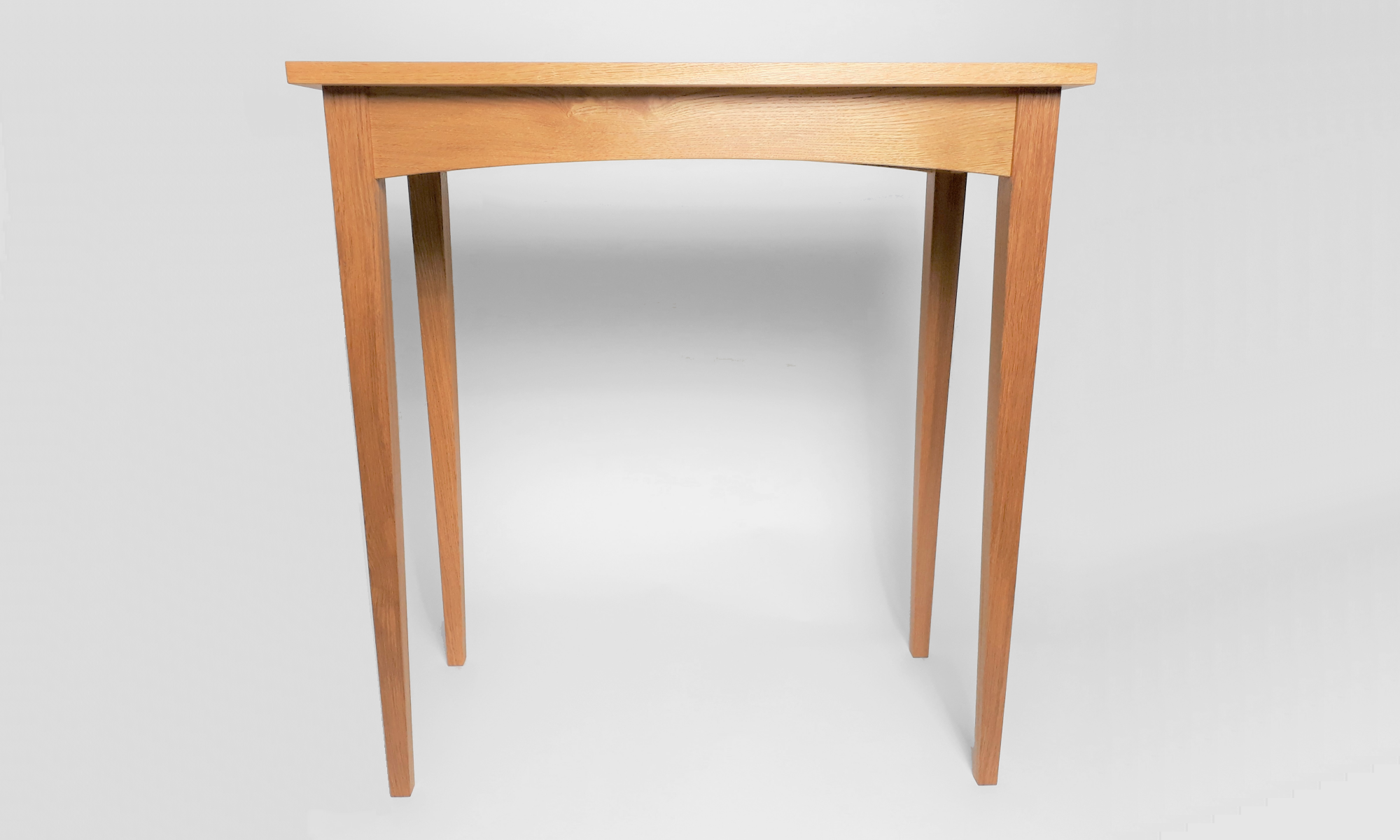 image of bespoke handcrafted hall table furniture