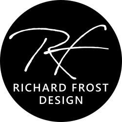 logo richard frost design
