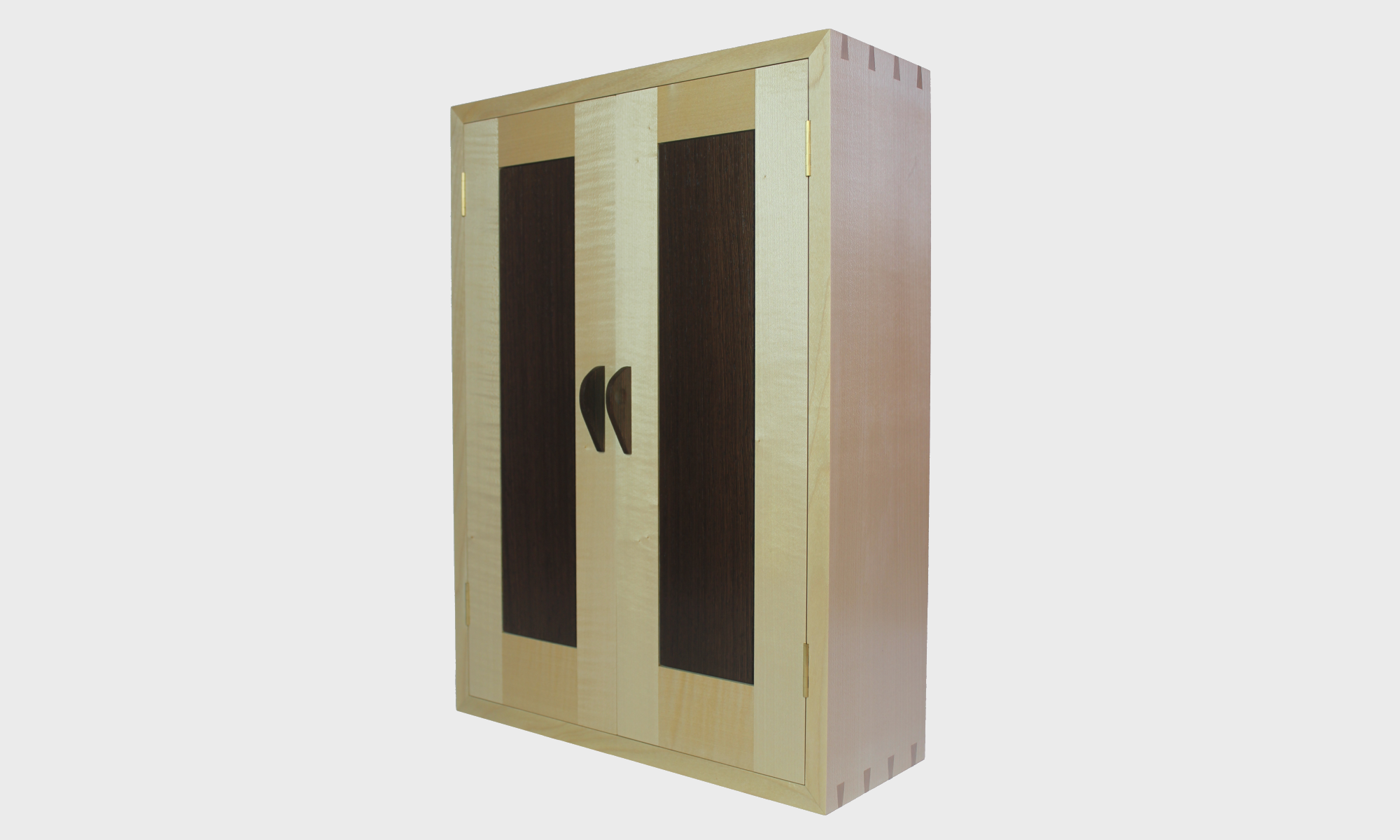 image of bespoke handcrafted wall cabinet